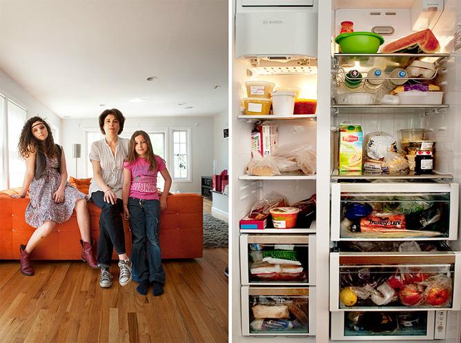 Pessoas e suas geladeiras