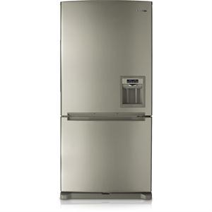 Refrigerador Samsung Bottom Mou Frost Free 455 Litros Inox