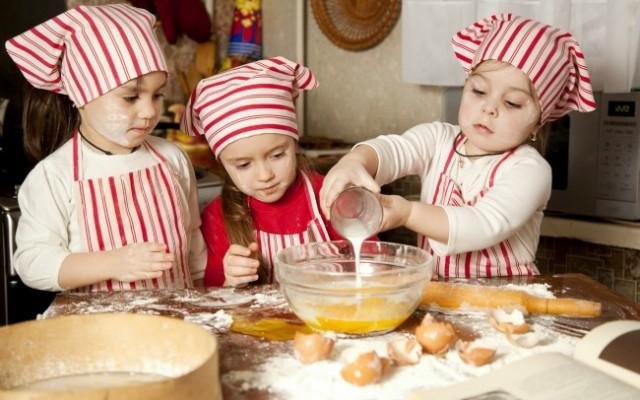cozinhando para a amamãe