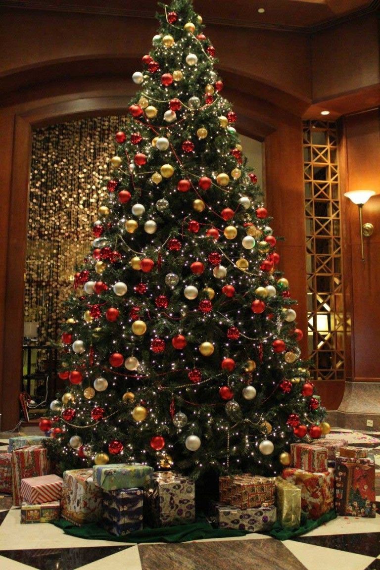 green-ornaments-for-living-room-2015-christmas-tree-decorations